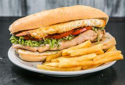 Sándwich Matambre Cerdo A Mi Nooo