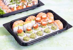 Rolls X 12, Shrimps Wraps & 2 Haru