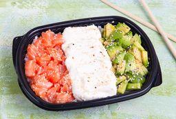 Combo Sushi Salad & Shrimps Wraps