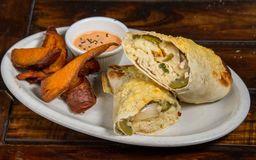 Burritos de Pollo y Vegetales
