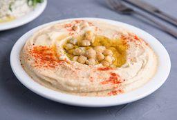 Falafel Wrap & Hummus Al Plato