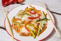 Wok Chow Mi Fen de Verduras