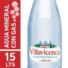 Villavicencio Agua con Gas 1.5ml.
