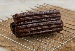 Churros Rellenos Bañados en Chocolate