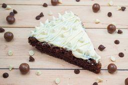 Brownie con Chocolate Blanco
