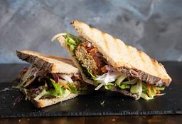 Sándwich Libanes Vegetariano