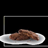 Cookie de Chocolate Rellena con Dulce de Leche