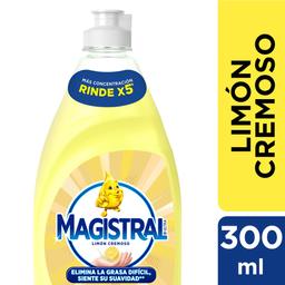 Magistral Detergente Lavavajillas Limón Cremoso
