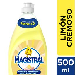 Magistral Detergente Lavavajillas Limon Cremoso
