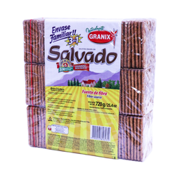 Salvado Granix Galletitas Crackers