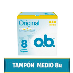 Ob Tampones Originales Medio 8 U