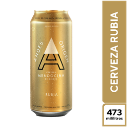 Andes Rubia 473 ml