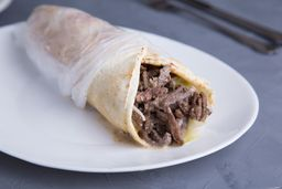 Combo Shawarma Wrap & Cerveza
