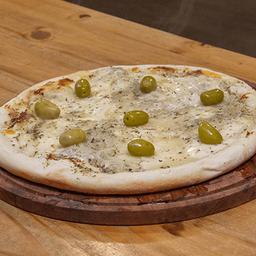 Pizza Fugazza con Muzzarella