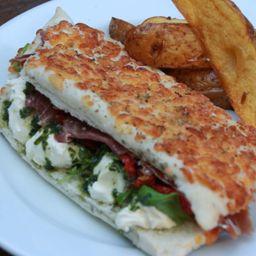 Sándwich de Burrata