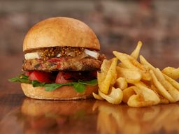 Freddy Veggie Burger & Guarnición