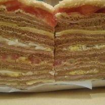 Sándwiches Triples Crudo & Tomate x 12
