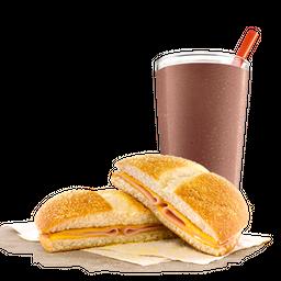 Combo Tostado de Campo Bacon + Bebida
