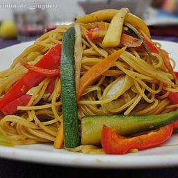 Menu Tallarín con Verduras + Sopa