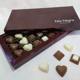 21 Bombones de Chocolate