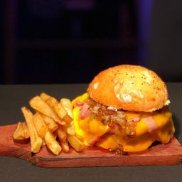 Double Cheddar Burger