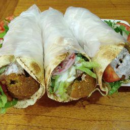 3x2 Sándwich de Falafel