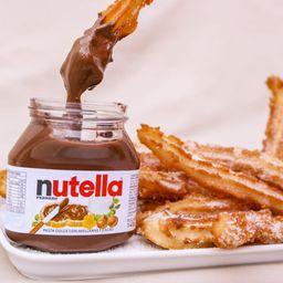 Churros con Nutella