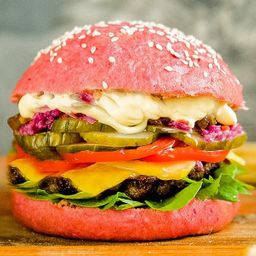 Combo Pink, Be Your Colour Burger&beer