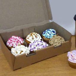 Cupcakes yoko x 6
