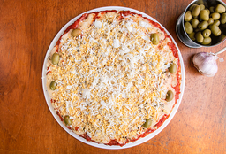 Pizza de Jamón & Huevo Duro