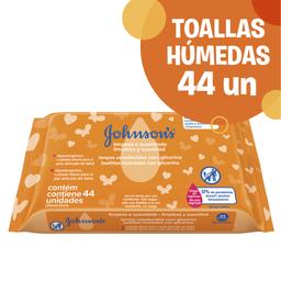 Combo 2U Johnson´S Baby Toallitas Húmedas Limpieza Y Suavidad