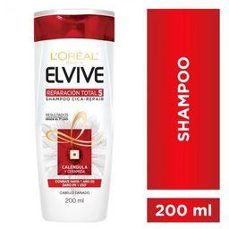 Elvive Shampoo + Acondicionador Reparación Total 5 X 200Ml.