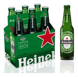 Six Pack Cerveza Heineken Porron 330ml