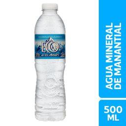 Mineral Eco de los Andes Sin Gas 500 ml
