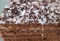 Porción de Chocotorta