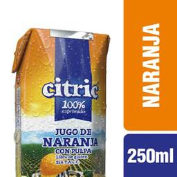 Jugo Citric Naranja Con Pulpa 250 Ml