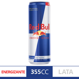 Energizante Red Bull Lat 355 Ml