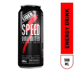 Bebida Energizante Speed 500 Ml.