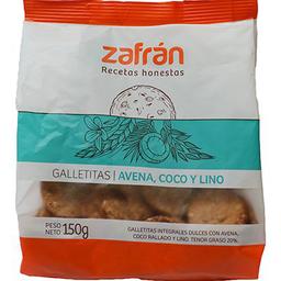 2 x Galletitaetitas Zafran Integral Linomlo