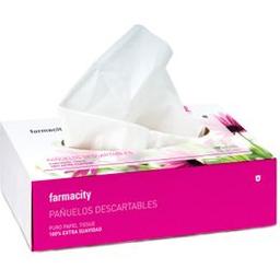 Pañuelos Descartables Farmacity Box X 100 Un