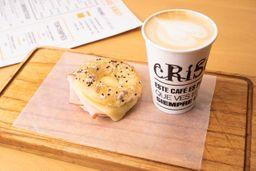 Latte + Minibagel