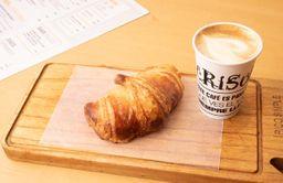 Latte + Croissant