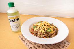 Wok Veggie + Limonada