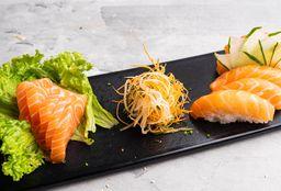 Combo 5 Sashimi  & 5 Niguiris de Salmón