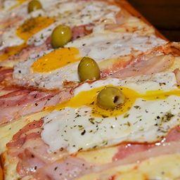 Pizza de Panceta