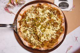 Pizza Fugazzeta con Provolone Grande