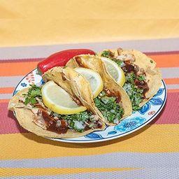 Tacos Tradicionales de Pollo Bbq