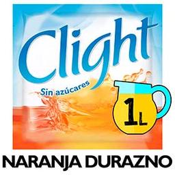 Clight Jugo En Polvo Naranja Durazno