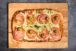 Pizza Napolitana Grande + Pizza Especial Grande