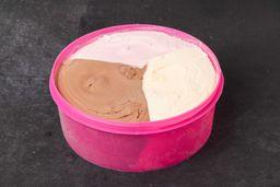 Helado de 3 L de Chocolate, Vainilla & Frutilla